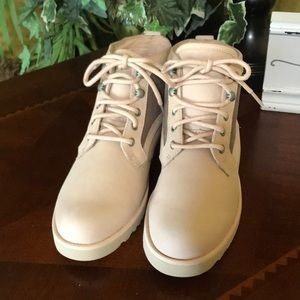 UGG Peach Bethany Lace Up Boots
